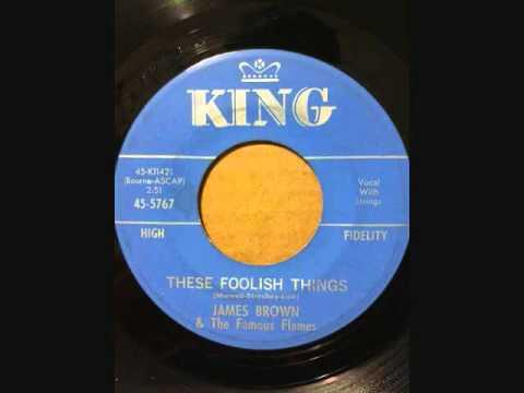 Tekst piosenki James Brown - These Foolish Things po polsku