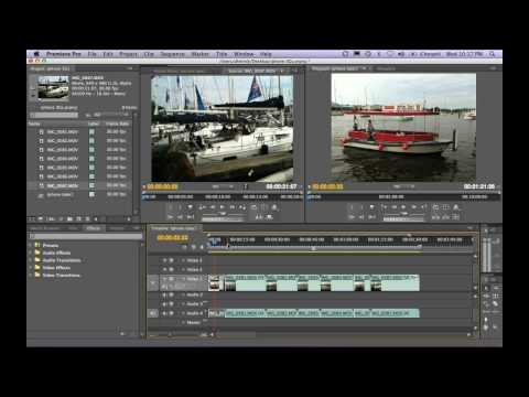 dhelmly - PART 1 of 2: Watch Dave Helmly as he shows you how to take your iPhone 3Gs videos even further with native editing in Premiere Pro CS4 and After Effects. Dav...