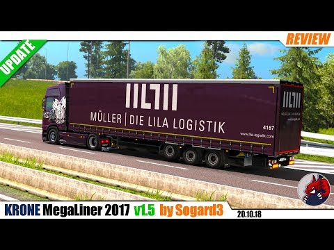 Krone MegaLiner 2017 by Sogard3 v1.5 [1.32]