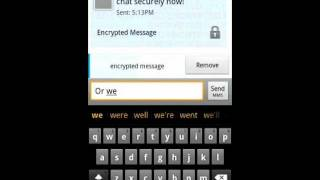 Secure Messenger SMS YouTube video