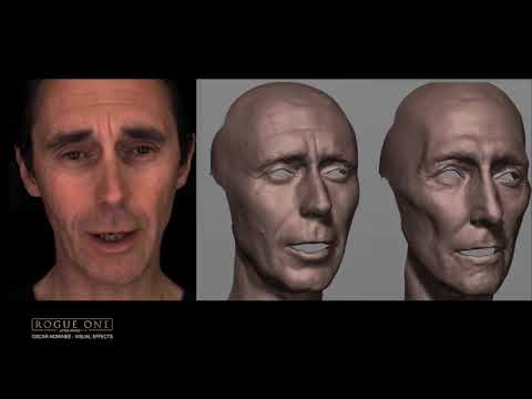 Recreating Tarkin - Featurette Recreating Tarkin (Anglais)