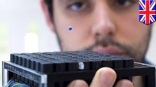 まるでSF!音波で物体を移動させる装置 英の研究者らが開発