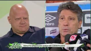 Após a polêmica declaração do técnico Renato Gaúcho na Ilha do Urubu, Ronaldo respondeu em tom de brincadeira.