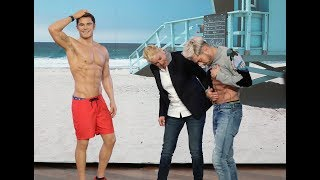 Zac Efron Compares Abs to His Wax Figure