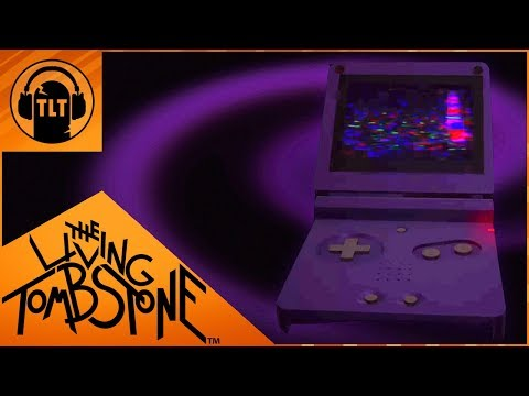 Gameboy Advance SP Blue Edition (Oney Plays) Creepypasta Song- The Living Tombstone