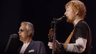 Video Perfect symphony -  Ed Sheeran ft Andrea Bocelli live at Wembley stadium MP3, 3GP, MP4, WEBM, AVI, FLV Juli 2018