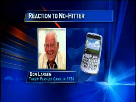 don larsen - Here's an uncut interview I did with New York Yankees legend Don Larsen. I asked Larsen about his perfect game during the 1956 World Series, sharing his plac...