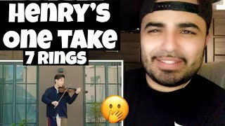 Reacting to Henry's One Take  Ariana Grande 7 Rings Instrumental/ 헨리가 아리아나 그란데의 7rings를 연주했다!