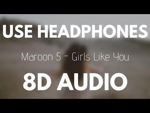Video Maroon 5 - Girls Like You (8D AUDIO) ft. Cardi B download in MP3, 3GP, MP4, WEBM, AVI, FLV January 2017