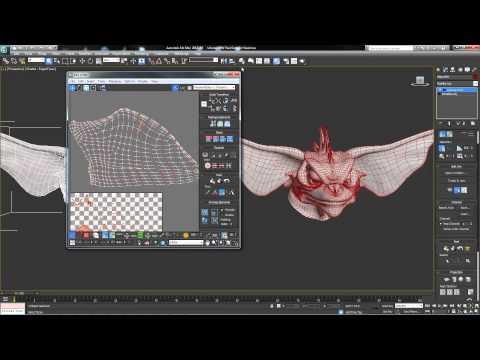 3ds max Modeling UVW Map Copy Paste UVs