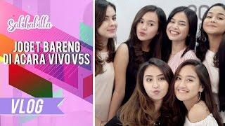 Video SALSHABILLA #VLOG - Joget Bareng Di Acara Vivo V5s!! MP3, 3GP, MP4, WEBM, AVI, FLV November 2018