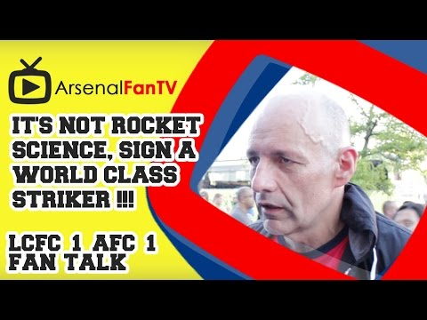 'It's - It's not a Rocket Science, Sign a World Class Striker !!! - Leicester City 1 Arsenal 1 AFTV APP: IPHONE : http://goo.gl/1TNrv0 AFTV APP: ANDROID: http://goo.gl/uV0jFB AFTV ONLINE SHOP :...