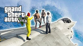 GTA 5 PC Funny Moments! - Hydra Surfing and More!!