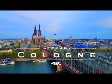 Cologne / Köln, Germany 🇩🇪 - by drone [4K]
