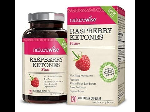 Fat burner - NatureWise Raspberry Ketones Plus+