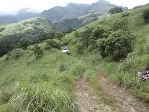 wayanad,kerala,india off road jeep safari  with ecoventure holidays mob:08086686860