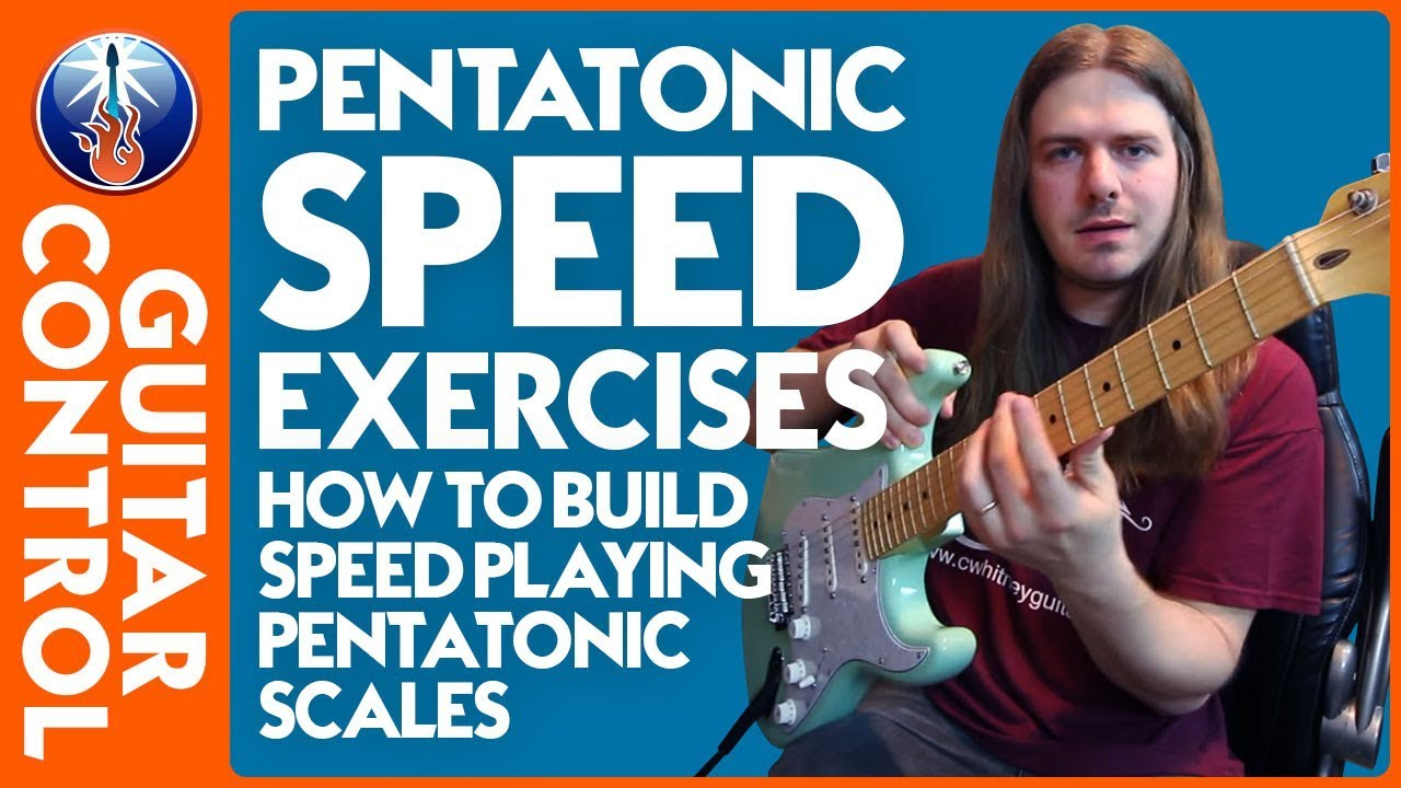 How to Build Speed Playing Pentatonic Scales – Lead Guitar Lesson on Pentatonic Scales
