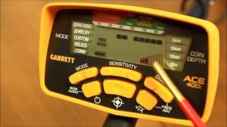 Garrett Ace 400i - Функционал и настройки. Часть 4