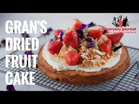 Gran's Dried Fruit Cake | Everyday Gourmet S7 E36
