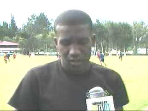 Entrevista a Elkin Murillo desde el Entrenamiento con la Liga Deportiva Quito
