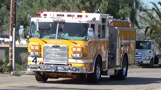 Santee (CA) United States  city photo : Santee M4 + E4 Responding