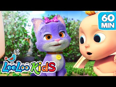🐱Pussy Cat, Pussy Cat 🐱 The BEST SONGS for Kids | LooLoo Kids