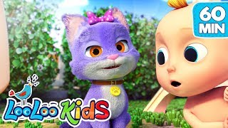 Video 🐱Pussy Cat, Pussy Cat 🐱 The BEST SONGS for Kids | LooLoo Kids MP3, 3GP, MP4, WEBM, AVI, FLV Juni 2019