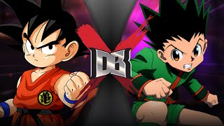 Goku VS Gon (DBZ VS Hunter X Hunter)   DBX by ScrewAttack