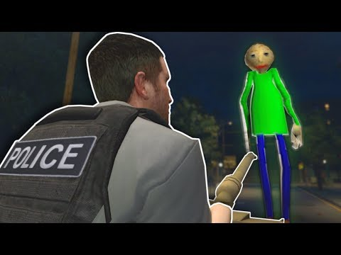 Garrys Mod - POLICE INVESTIGATION WITH TANKS! - Garry's Mod Gameplay -  Gmod Baldi Tank Battle!