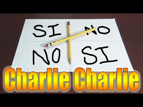 MI GRAN AMIGO CHARLIE - Charlie Charlie Challenge   Fernanfloo