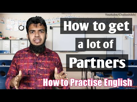 How to get partners for practise spoken english | Spoken Practising method | CS English Spoken Class