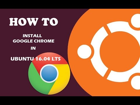 This video describes the steps to install Google Chrome on Ubuntu 16.04 LTS 17.04 and 17.10 Commands are not in description as I want people to understand ...