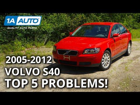 Top 5 Problems Volvo S40 Sedan 2nd Generation 2005-2012