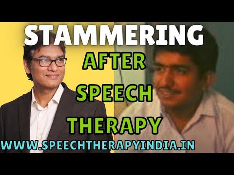 stammering speech therapy in Bangalore India after treatment by SLP Sanjay Kumar an AIIMS alumnus