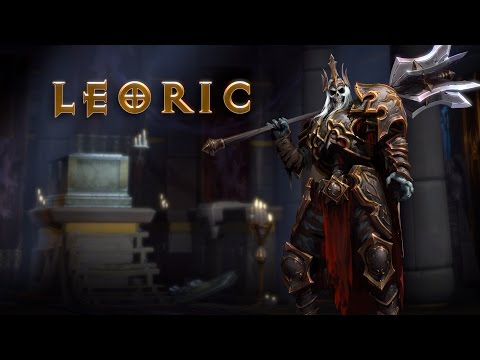 Tráiler de Leoric – Heroes of the Storm