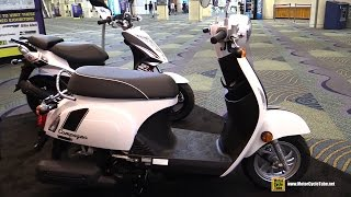 9. 2016 Kymco Compagno 110i Scooter - Walkaround - 2015 AIMExpo Orlando
