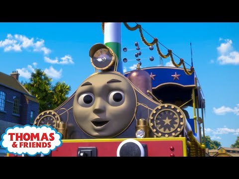 Thomas & Friends UK | Trusty Trunky | Best Moments of Season 22 Compilation | Vehicles for Kids