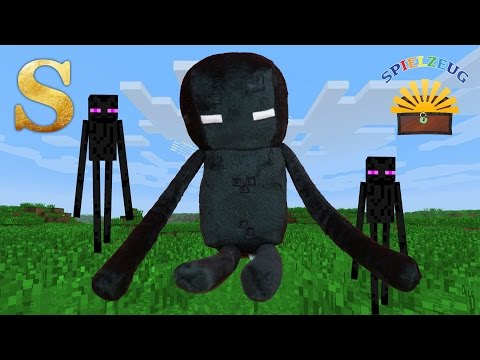 Minecraft Enderman - Figur auspacken Figure unboxing Review Test