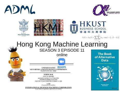 HKML S3E11 - Saeed Amen presenting bits of The Book of Alternative Data