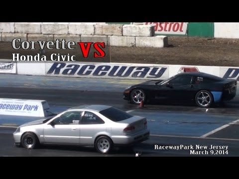 Corvette vs. Civic