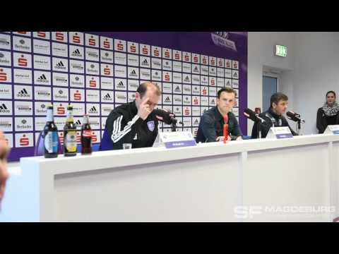 Video: Pressekonferenz - VfL Osnabrück gegen 1. FC Magdeburg  2:0 (1:0)