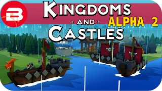 Kingdoms and Castles Gameplay: FRANTIC FARMING #13 - Lets Play Kingdoms & Castle Alpha