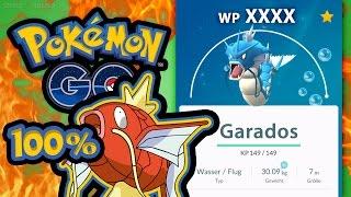 100% Karpador → 100% Garados / Gyarados   Let's Play Pokémon GO Deutsch #070, pokemon go, pokemon go ios, pokemon go apk