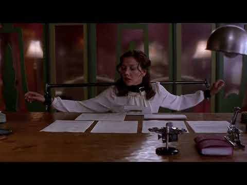 Secretary 2002 | Opening Sequence | Maggie Gyllenhaal | Short Video Clip