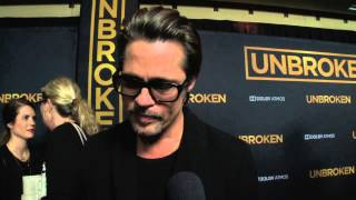 Unbroken: Brad Pitt Red Carpet Premiere Interview