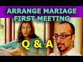 Video for arranged marriage first meeting questions to boys