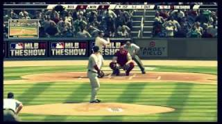 MLB 12 The Show Gameplay (PS3) - Boston Red Sox vs Minnesota Twins (HD)