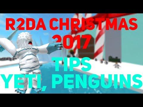 YETI, PENGUIN BOSS FIGHT! | R2DA Christmas Event 2017 Debug (видео)