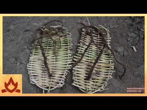 How to Make a Pair of Sandals Out of Loya Cane