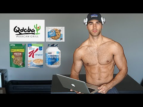 A Full Day of Eating | My Bulking Diet (3,500 Calories)